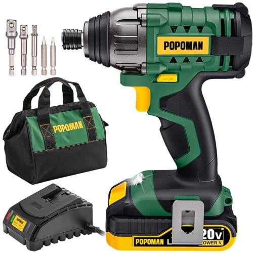 Impact Driver Kit, 1600In-lbs/180N.m 20V Impact Drill, 0-2900RPM Variable Speed,...