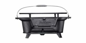 Bruntmor Pre-Seasoned Hibachi-Style Portable